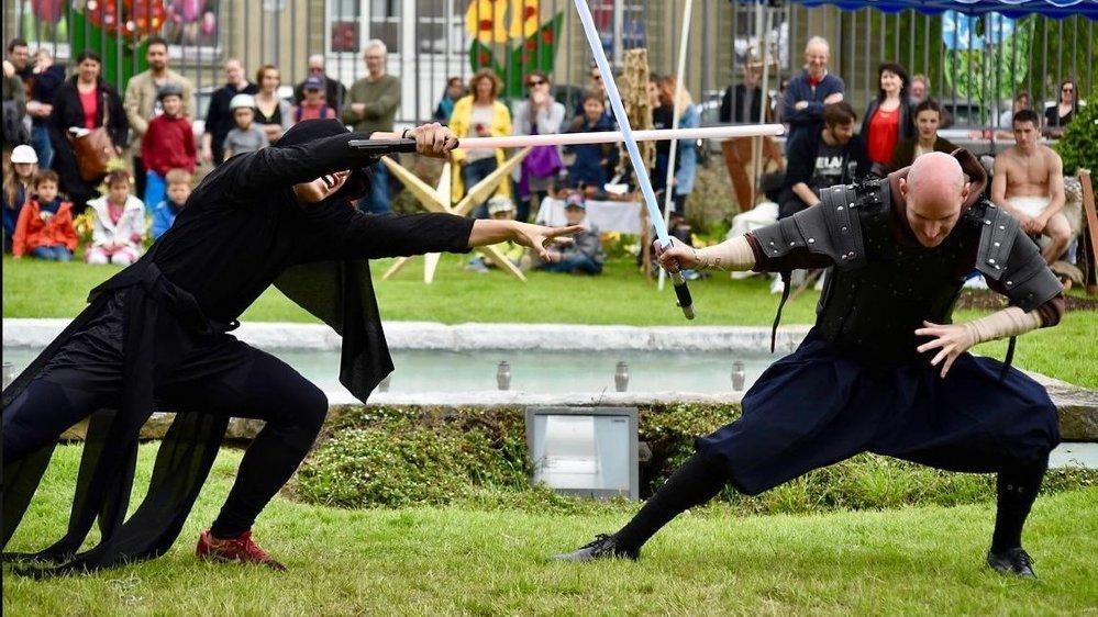 L'Epic'festival déroulera ses fastes ce week-end au château de Morges. Au nombre des animations proposées, des combats de cap et d'épée et des démonstrations de tirs à l'ancienne.