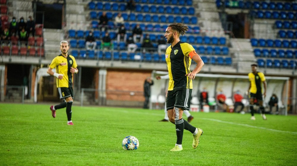 """Grâce à cette victoire, Anthony Baron et les """"jaune et noir"""" ne joueront pas contre la relégation."""
