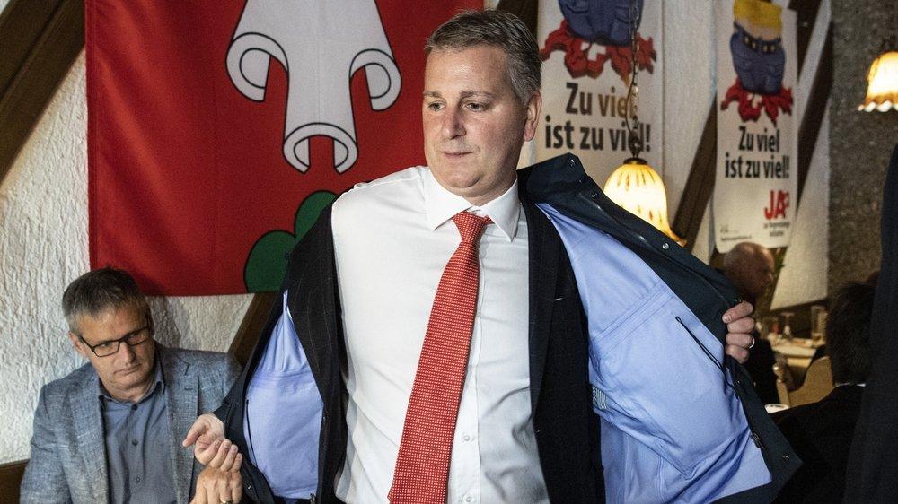 C'était une lourde défaite pour l'UDC et son président fraîchement élu, le tessinois Marco Chiesa.