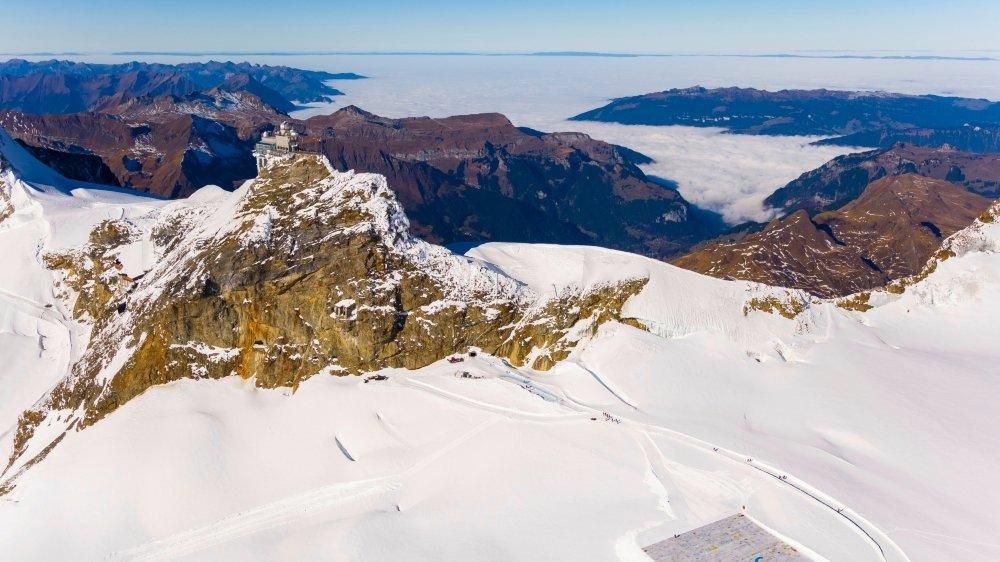 Les grands sommets comme le Jungfraujoch ont notamment subi d'importantes pertes. (archives)