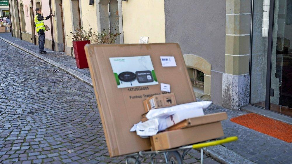 Les entreprises basées sur le numérique, notamment de vente par correspondance, ont montré leur force durant la crise sanitaire.