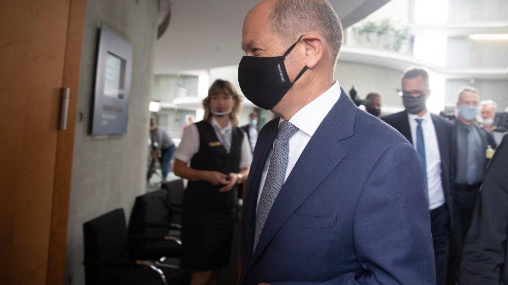 Favori pour succéder à Angela Merkel, Olaf Scholz est pris dans la tourmente du scandale Wirecard.