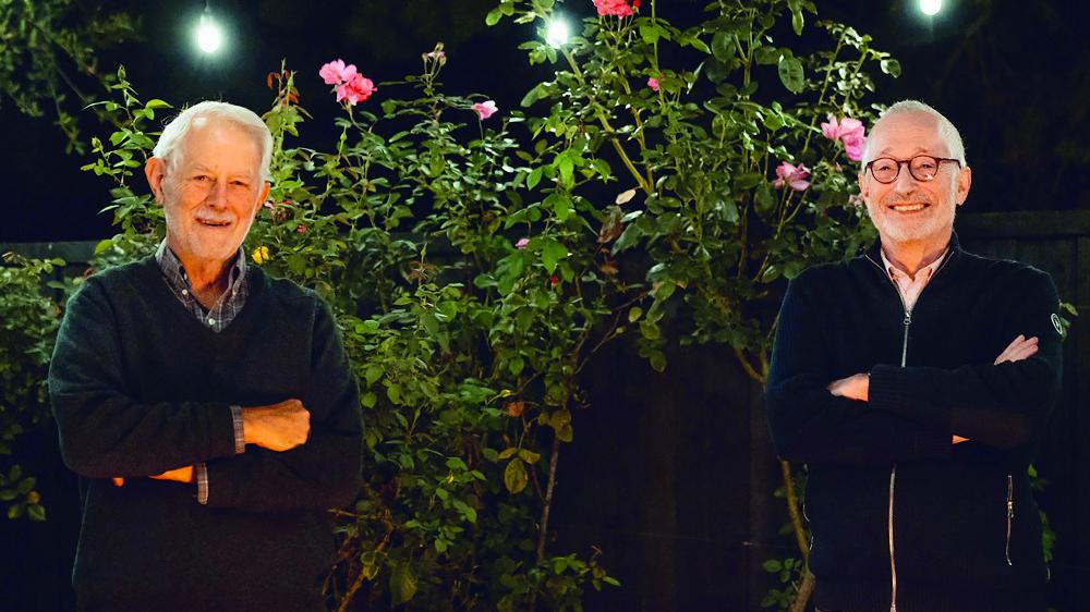 Robert Wilson (à gauche) et Paul Milgrom ont reçu lundi le prix Nobel d'économie.