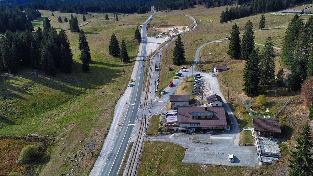 Le vallon de la Givrine devrait voir pousser plusieurs nouvelles infrastructures touristiques.