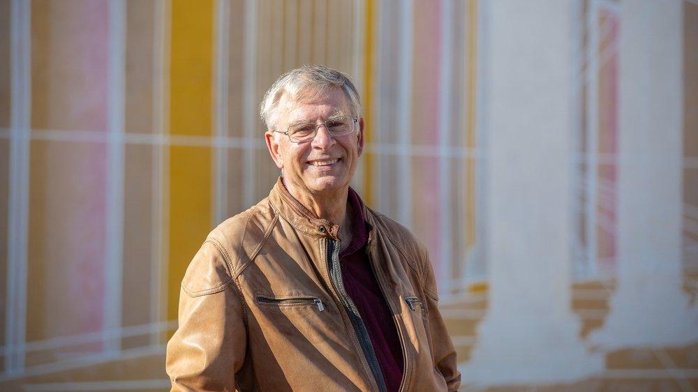 Jean-Luc Blondel préside les Amis des musées de Nyon depuis 2018.