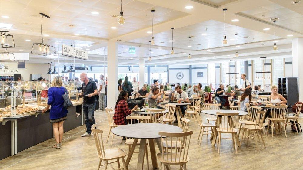 Le restaurant de La Combe doit aussi s'adapter à la situation sanitaire (photo d'illustration prise avant la crise du coronavirus).