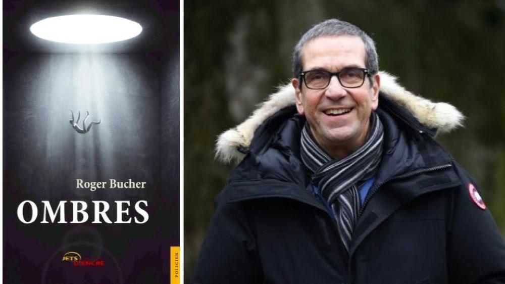 """""""Ombres"""" est le deuxième roman du Trélésien Roger Brucher."""