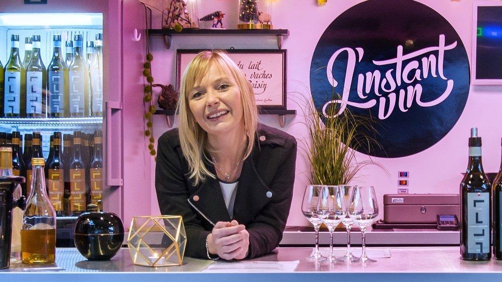Chloé Paccot  a créé L'Instant vin, un wine truck.