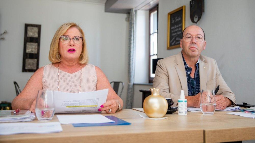 """les députés Josephine Byrne Garelli et Pierre-André Romanens, sont à l'origine de l'initiative """"SOS Communes""""."""