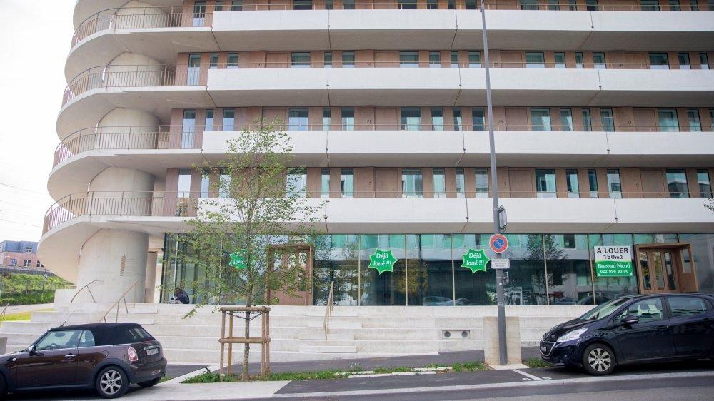 Une gaufrerie devrait animer le rez-de-chaussée du bâtiment de la rue de la Morâche 8.