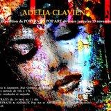 Exposition de peintures de Adelia Clavien