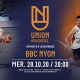 Match de championnat de LNA de Basket