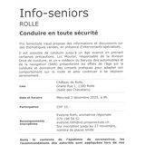 Info-seniors Rolle