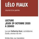 Lecture Lélo Fiaux - journal d'un peintre