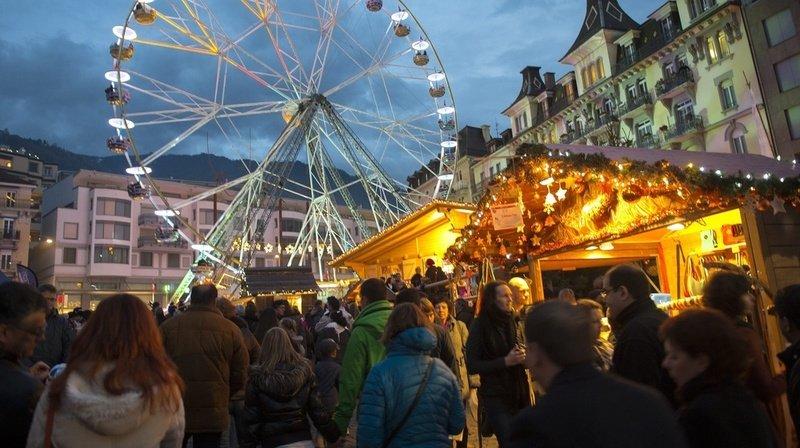 Le marché de Noël de Montreux, le plus emblématique à se tenir en Suisse romande, est annulé cette année.