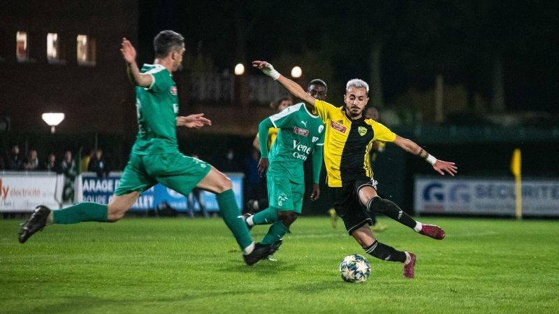 Shao Maroufi et le Stade Nyonnais ont partagé l'enjeu avec Yverdon.