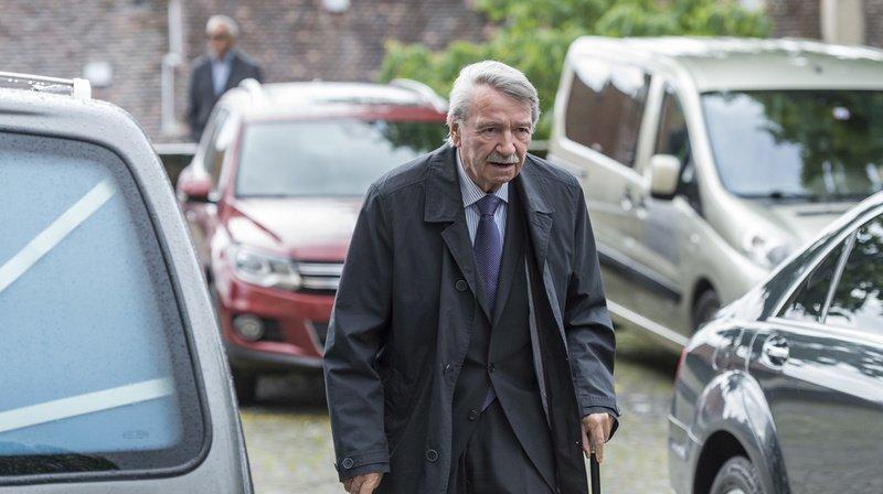 L'ex-politicien en 2016, à Neuchâtel.