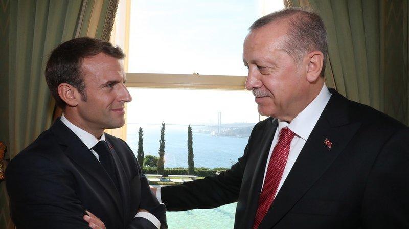 Les tensions en Méditerranée, le conflit en Libye, les affrontements au Karabakh... de nombreux dossiers opposent actuellement Paris et Ankara. (archives)