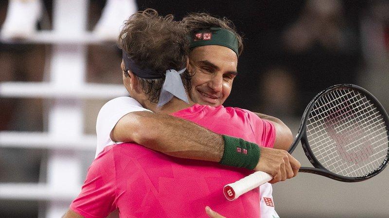 """""""Bravo Rafa, tu le mérites"""" a tweeté Roger Federer après que Nadal a remporté un vingtième trophée du Grand Chelem."""
