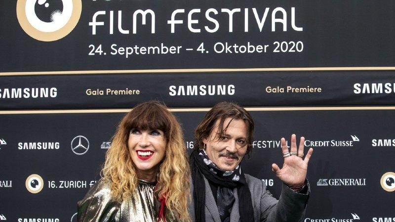 Cinéma: Johnny Depp au Zurich Film Festival pour présenter un documentaire
