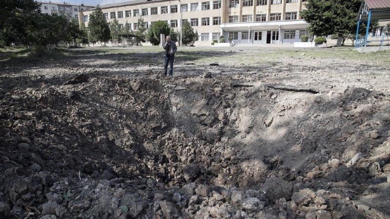 Arménie-Azerbaïdjan: bombardements sur la capitale régionale du Nagorny Karabakh