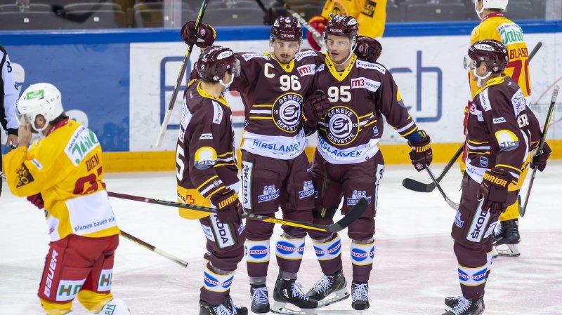 Hockey – National League: Genève écrase Langnau dans un match à sens unique