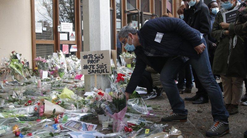 France: une 11e personne en garde à vue dans l'affaire du professeur décapité
