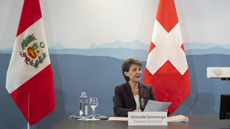 Climat: la Suisse va compenser ses émissions de CO2 via des projets au Pérou