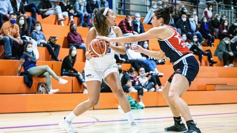 Battu par le leader, le Nyon Basket Féminin attend des jours meilleurs