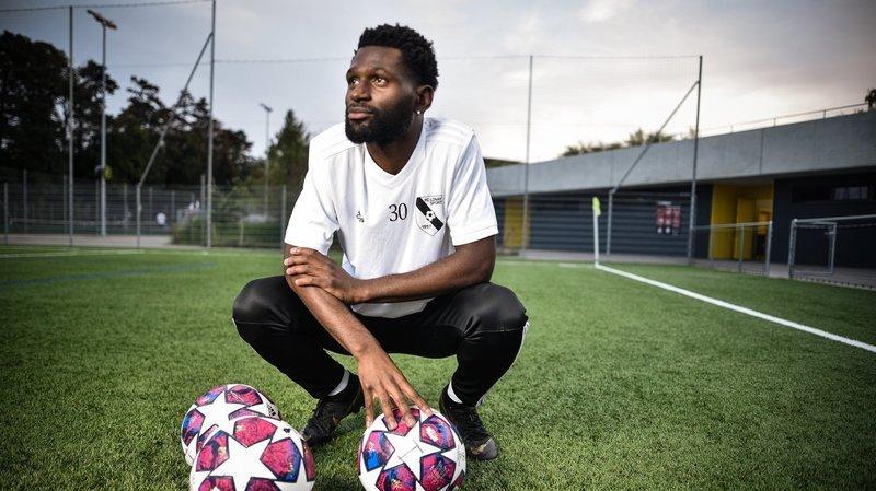 Au FC Lonay, «Brandon le déconneur» est devenu la terreur des défenseurs