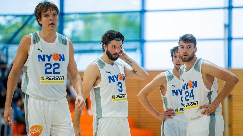 Covid-19: les clubs de basket nyonnais au repos forcé ce week-end