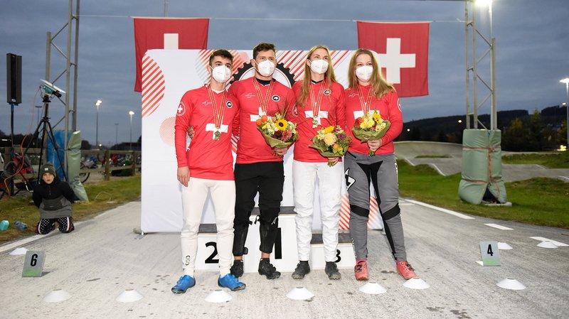 Zoé Claessens sacrée championne suisse de BMX