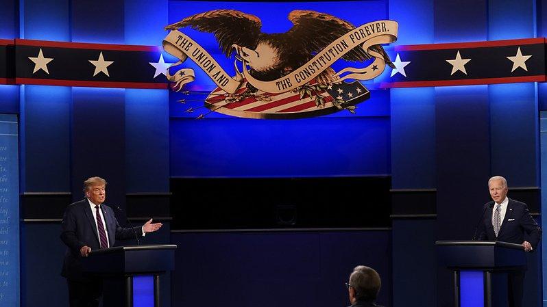 Présidentielle américaine: le débat entre Trump et Biden vire au chaos