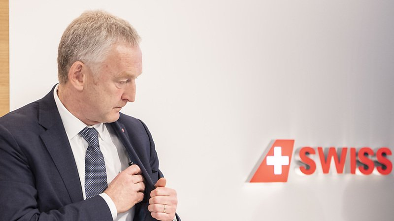 Le directeur général de Swiss va quitter en fin d'année les commandes de la compagnie aérienne (archives).