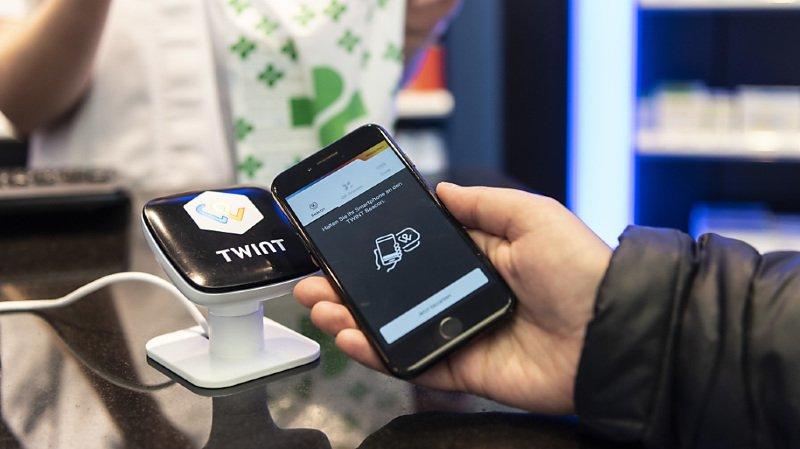 Moyens de paiement: Twint pourrait enregistrer 200 millions de transactions en 2021