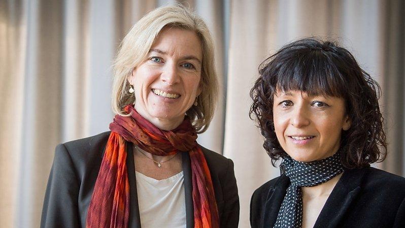 Prix Nobel de chimie: une Française et une Américaine récompensées pour leur outil d'édition du génome