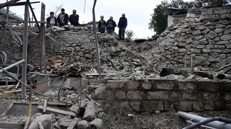 Arménie-Azerbaïdjan: pas de répit au Karabakh, inquiétude croissante pour les civils