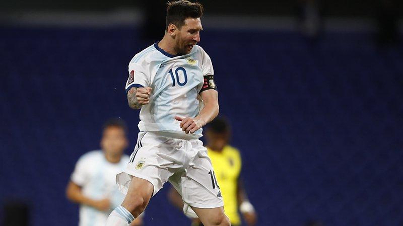 Football – Coupe du Monde 2022: Lionel Messi donne la victoire à l'Argentine