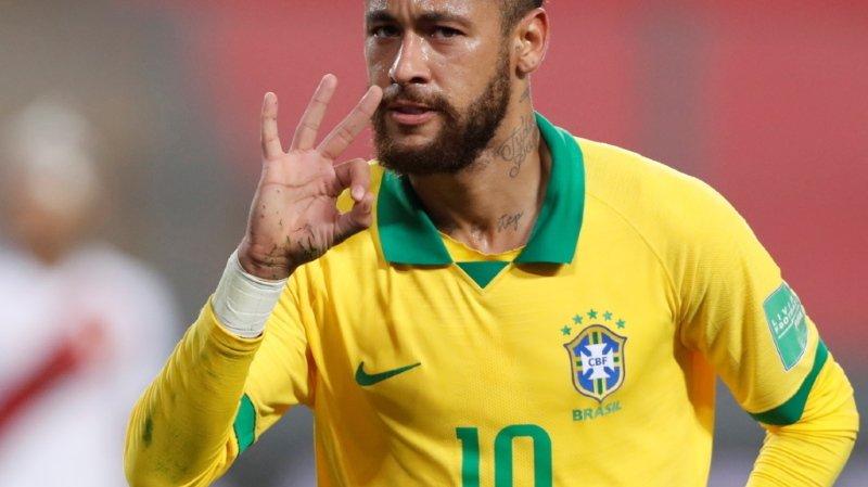 Football: Neymar dépasse Ronaldo et devient le 2e meilleur buteur de la Seleçao