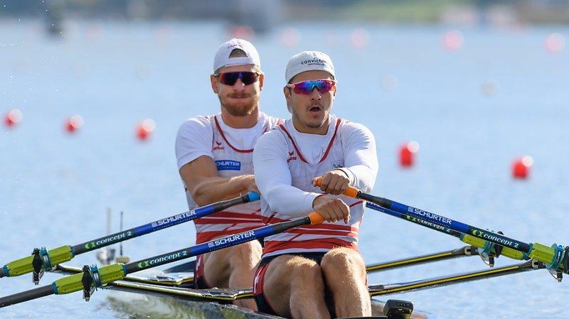 Une nouvelle médaille pour le duo Röösli/Delarze.