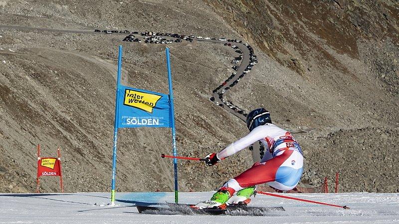 Ski alpin – Coupe du monde à Sölden: piste prête, mais il n'y aura pas de spectateurs