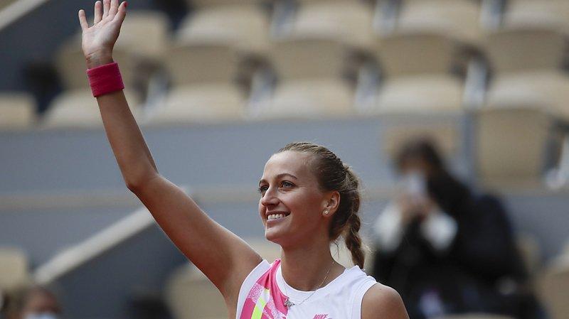 Tennis – Roland-Garros: Kvitova domine Siegemund et rejoint le dernier carré