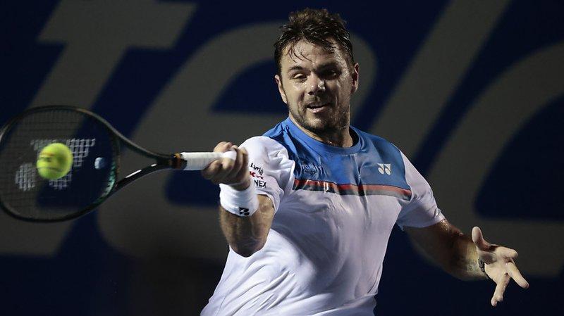 Tennis: Wawrinka domine Donskoy en trois sets