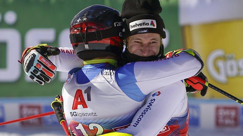 Ski alpin : les Suisses Odermatt et Caviezel sur le podium du géant de Sölden
