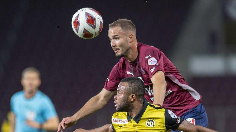Football: le Servette FC et Young Boys se neutralisent