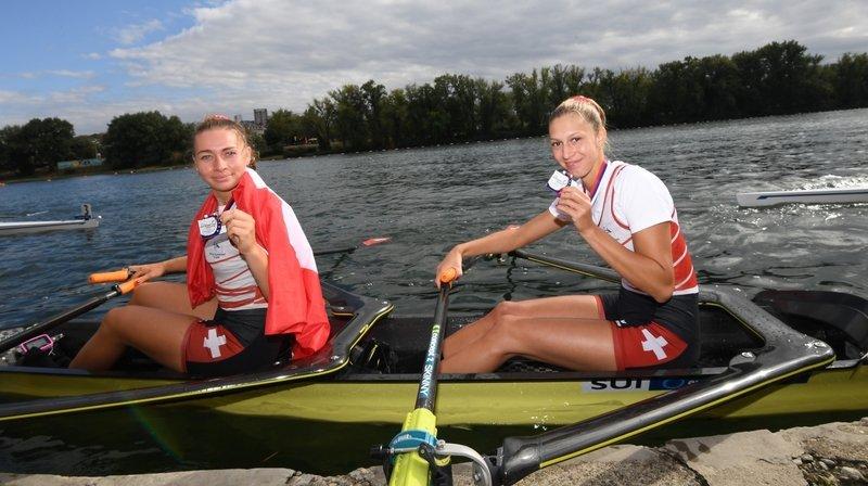 Aviron: une rameuse morgienne vice-championne d'Europe junior