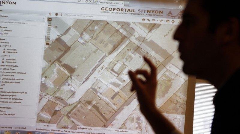 Nyon partage son système d'information du territoire avec sa région