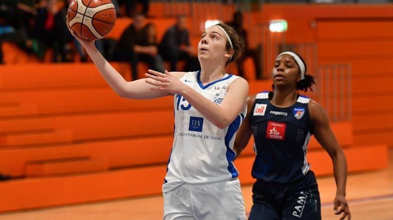 Le Nyon Basket Féminin a résisté une mi-temps face à Winterthour