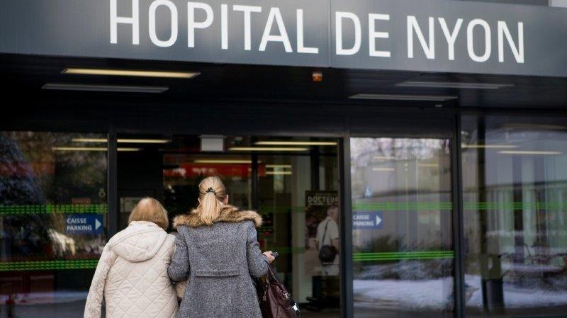 Visites suspendues aux hôpitaux de Nyon et Rolle