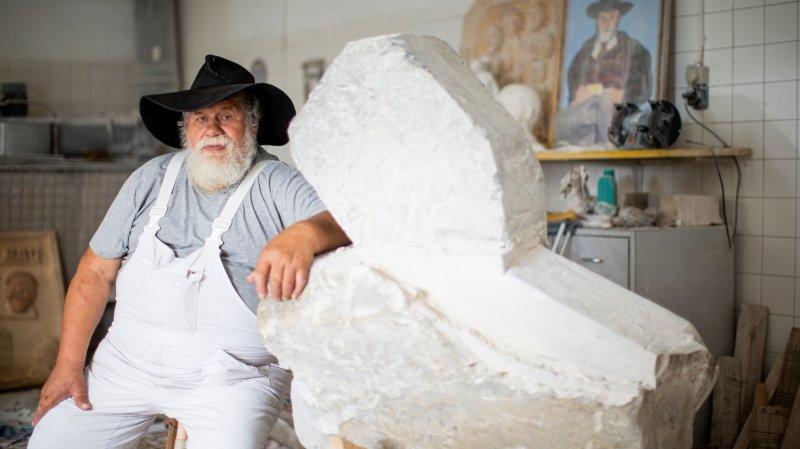 Morges: le sculpteur Ewald Brigger, colosse au grand coeur